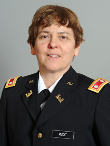 Lt. Col. Pennie Ticen, Ph.D.